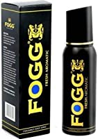 Fogg Black Collection Fresh Aromatic Deodorant Long Lasting Body Spray - For Men(120 ml)(Ship from India)