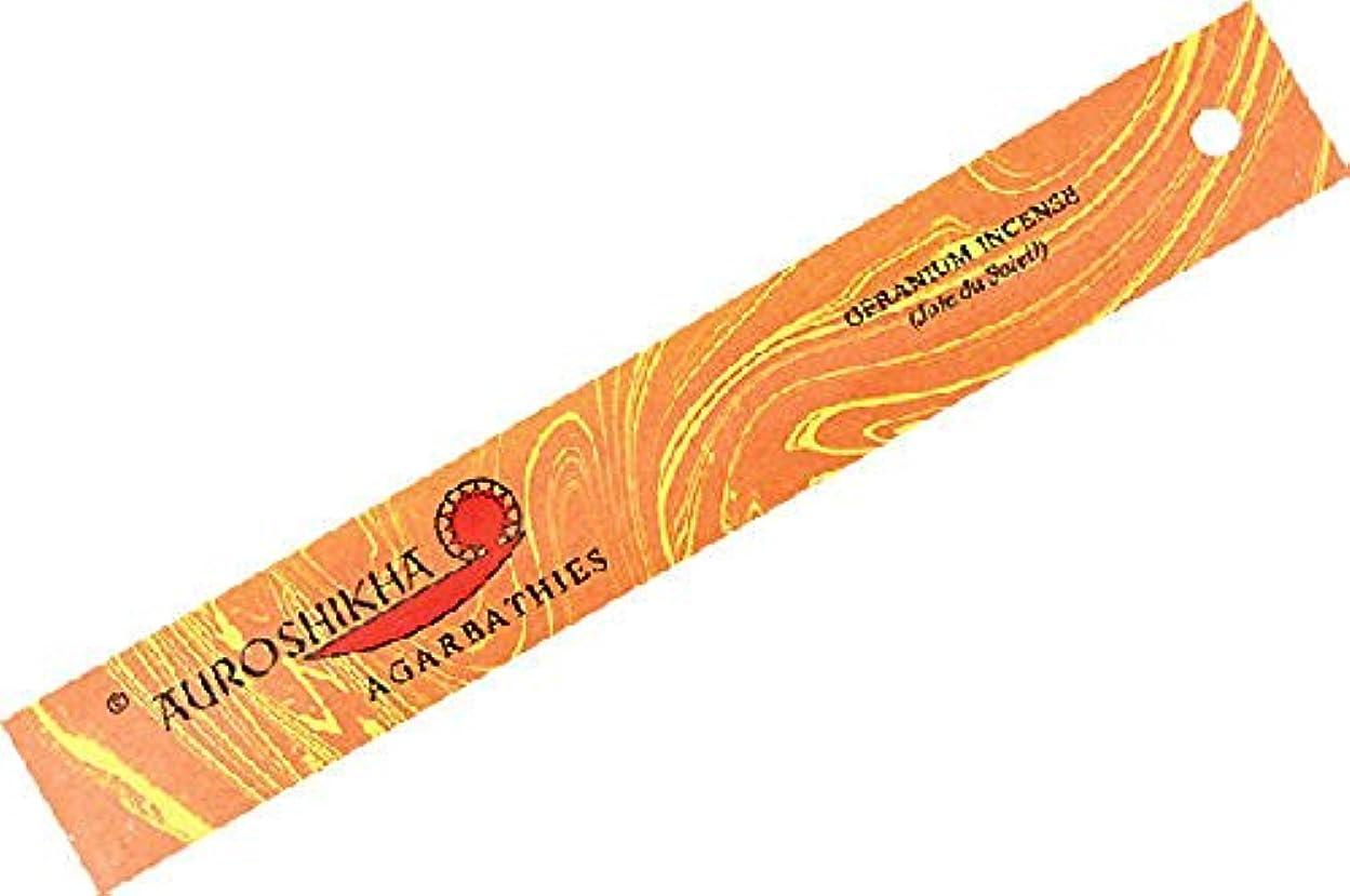頭痛フラッシュのように素早く照らすゼラニウムAuroshikha Incense Sticks – 高品質Incense Sticks