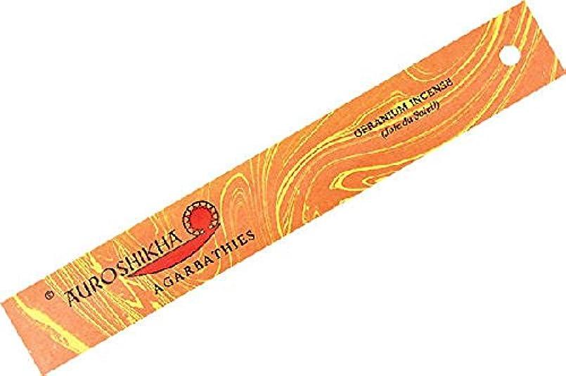 効能あるカウンタ市区町村ゼラニウムAuroshikha Incense Sticks – 高品質Incense Sticks
