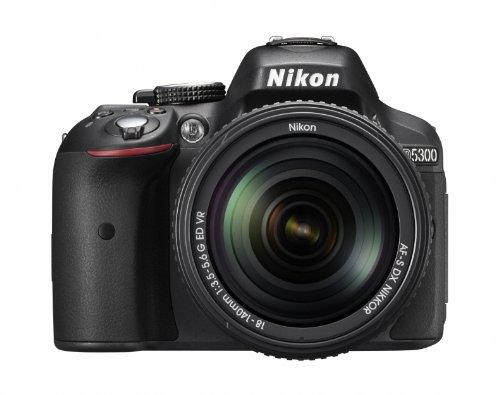 Nikon デジタル一眼レフカメラ  D5300 18-140VR レンズキット ブラック D5300LK18-140VRBK