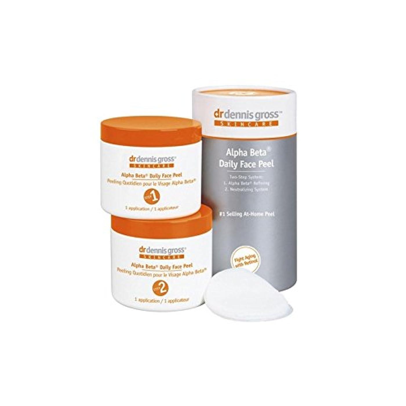 プーノ洗剤アリスDr Dennis Gross Alpha Beta Daily Face Peel (60 Pk) (Pack of 6) - デニスグロスアルファベータ毎日顔の皮(60 ) x6 [並行輸入品]