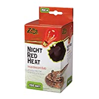 Zilla - Night Red Heat Incandescent Bulb 150 Watt - 100009923