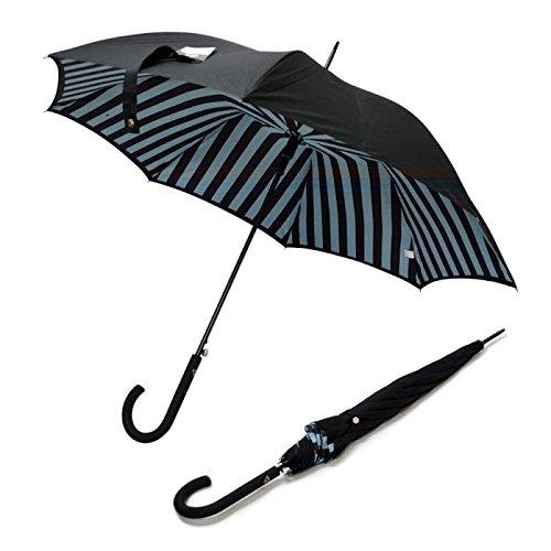 フルトン Fulton L754 030257 Bloomsbury-2 Block Stripe ワンタッチ ジャンプ傘 自動開き 長傘 2重構造 ブルームズバリー アンブレラ 表と裏で異なるデザインが魅力的 [並行輸入品]