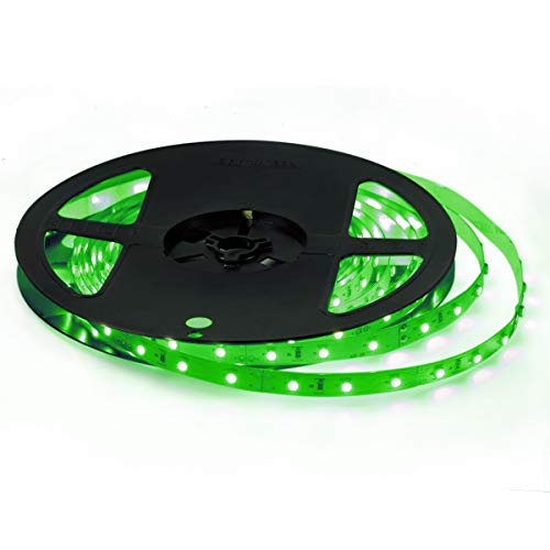 Signcomplex 12V 超高輝度 LEDテープライト 5M/300連 LED ストリップライト 正面発光 強力粘着両面テープ LEDチップSMD3528 LEDライト 広く 展示会、...