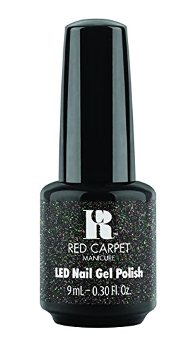 失ラメ二Red Carpet Manicure - LED Nail Gel Polish - Designer Series - An Evening to Remember - 0.3oz / 9ml
