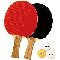 Kaiser(カイザー) 卓球 ラケット セット <ペンホルダー/シェイクハンド> ボール付 練習用