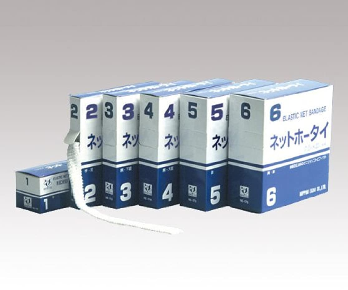 賃金常習者幹日本衛材 伸縮ネット包帯 1号 10mm×20m / 0-2424-01