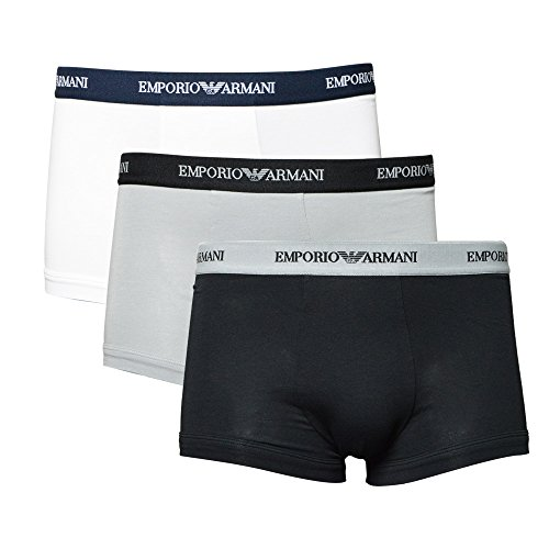 EMPORIO ARMANI アルマーニ ボクサーパンツ メンズ 3Pパック 3枚組 ストレッチ コットンパンツ