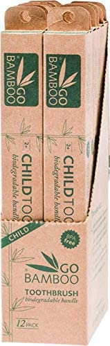 Go Bamboo Children's Toothbrush, 12 C