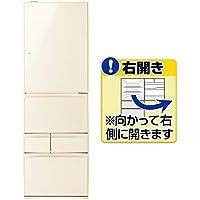 東芝 【右開き】411L 5ドアノンフロン冷蔵庫 ラピスアイボリー GR-P41GXV(ZC)
