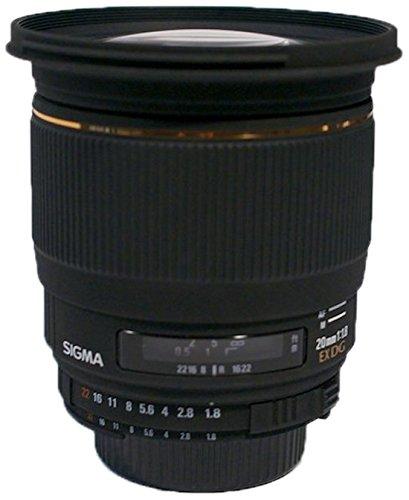 SIGMA 単焦点広角レンズ 20mm F1.8 EX DG ASPHERICAL RF ニコン用 フルサイズ対応