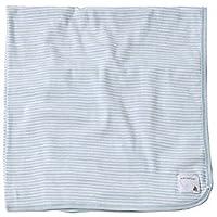 Burt's Bees Baby Essentials Swaddling Blanket 100% Organic Cotton, 29x29 Sky Blue by Burt's Bees Baby [並行輸入品]