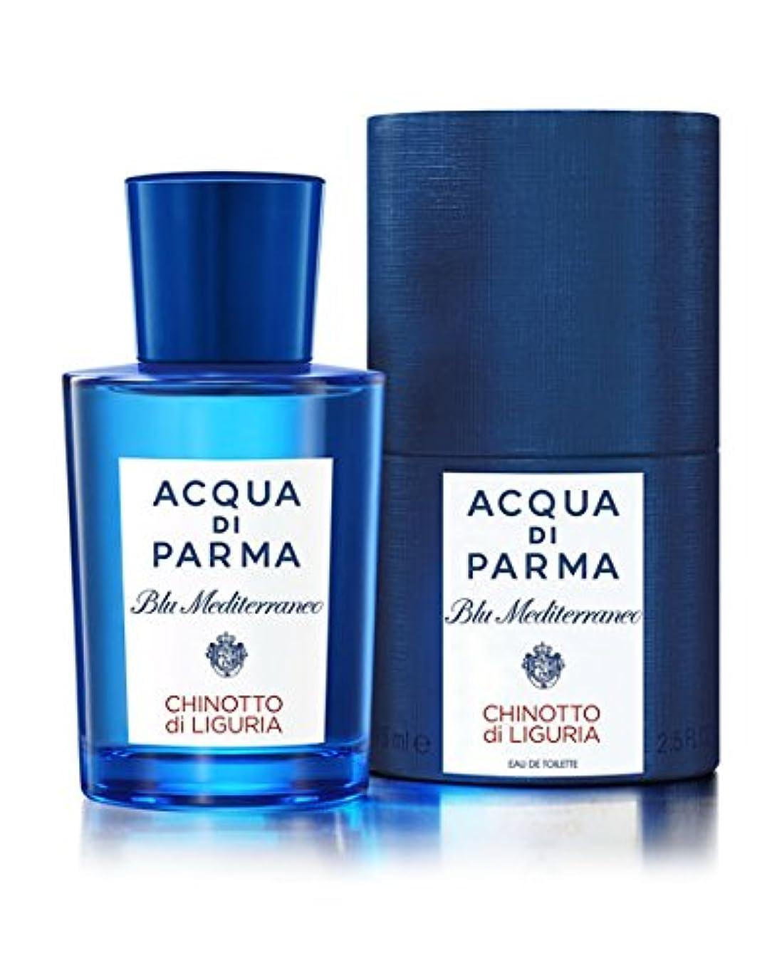 踊り子スカープ好意的Blu Mediterraneo Chinotto Di Liguria (ブルー メディタラーネオ チノットディリグリア) 5.0 oz (150ml) EDT Spray by Acqua di Parma