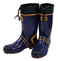 (ジョルディック) JOLDIC 大きいサイズ セフティDX長靴 30 ネイビー