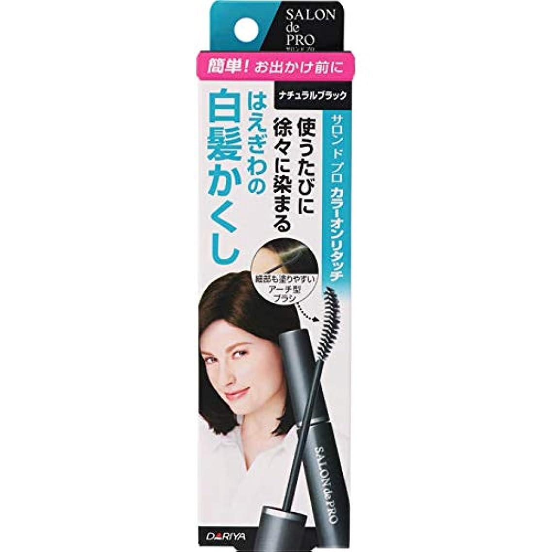 症状把握タバコサロンドプロ カラーオンリタッチ 白髪かくしEX ナチュラルブラック