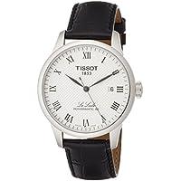 [ティソ] TISSOT 腕時計 ル・ロックル オートマティック パワーマティック80 シルバー文字盤 レザー T0064071603300 メンズ 【正規輸入品】