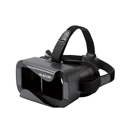 エレコム 3D VR ゴーグル グラス ヘッドマウント用 ヘッ...