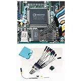 サンハヤト FP-7L-10 テストクリップ IC作動チェックや信号取り出しが簡単にできる・0.5mmピッチ対応・先端長13mm・10色セット