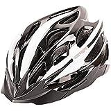 Osize サイクリングヘルメットワンピースライディングヘルメットマウンテンバイクロードバイクヘルメット(モノクロ)