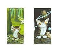 猫のダヤン チケットクリアケースセット (森のささやき/天球) わちふぃーるど