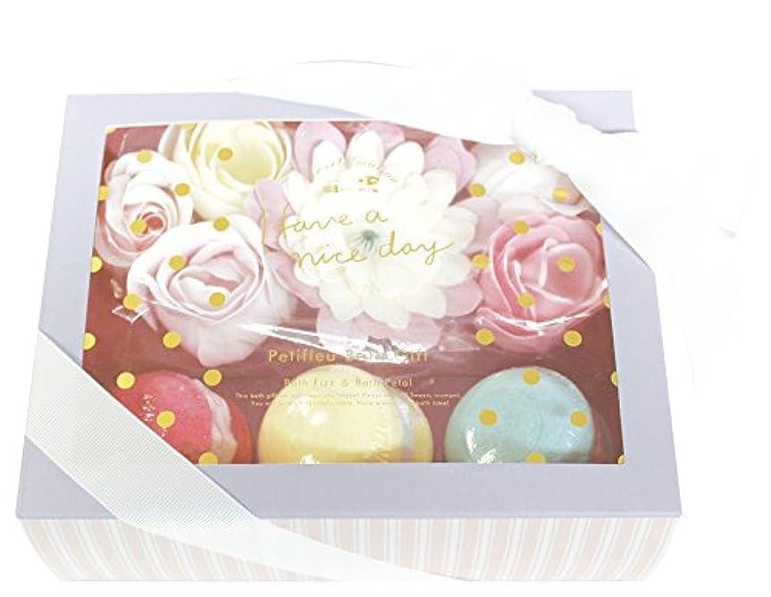 屋内賞散髪ノルコーポレーション 入浴剤 ギフトセット ペティフル バスギフト ペールミックス OB-SMG-7-2
