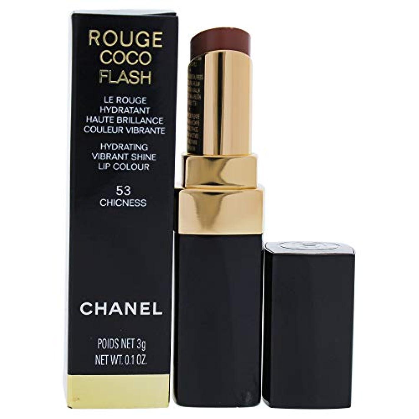 韓国境界収束するRouge Coco Flash Lipstick - 53 Chicness