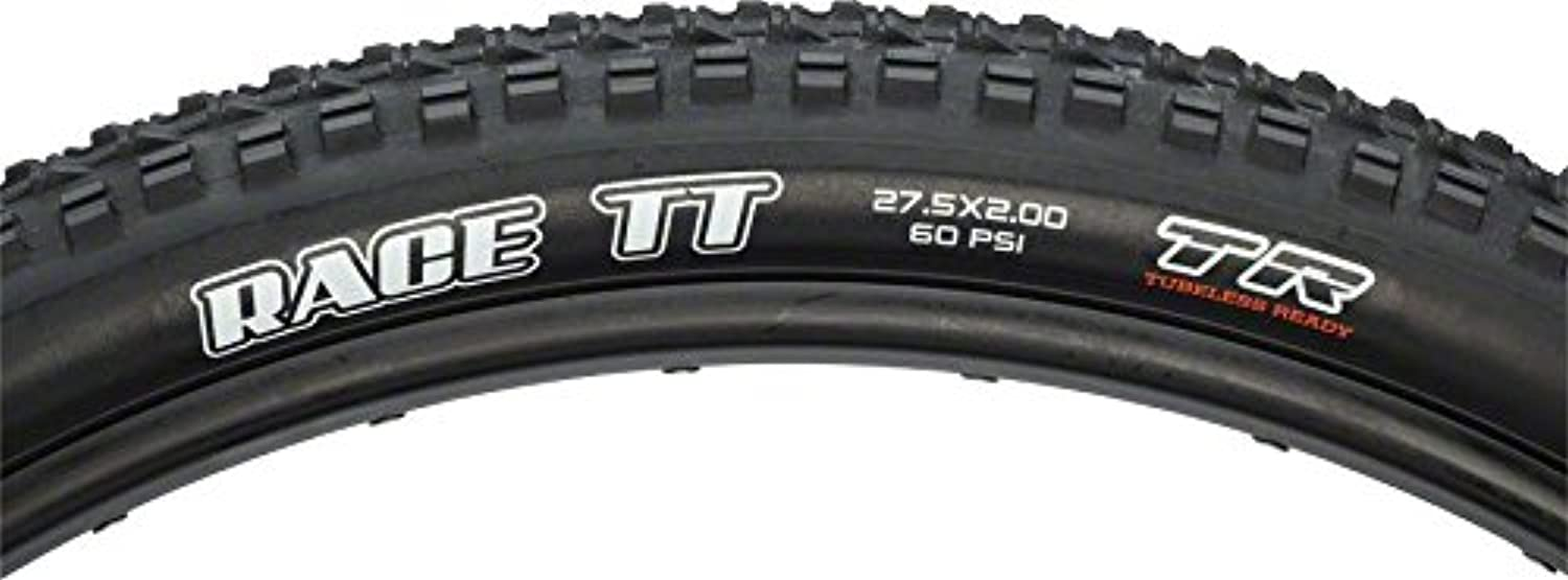 Maxxis Race TT, 27.5 x 2.0, 60tpi, Dual Compound, Tubeless Ready by Maxxis