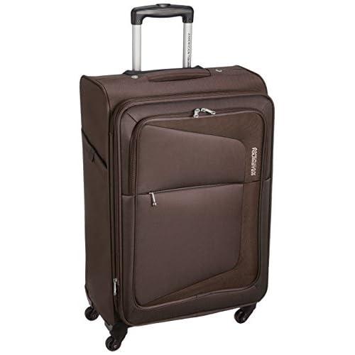 [アメリカンツーリスター] AmericanTourister スーツケース COSTA コスタ スピナー66 74L/82L 3.9kg 拡張機能 無料預入受託サイズ 保証付 75W*03002 03 (ブラウン)