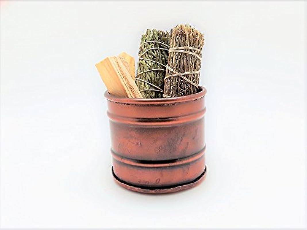 一人でオート小さなsavvygardens砂漠煙Smudge Stickバンドル
