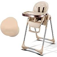 (Newox) ベビーチェア ハイチェア 子供用椅子 食事椅子 昇降機能付き 多機能 6~36ヶ月 (ゴールデン)