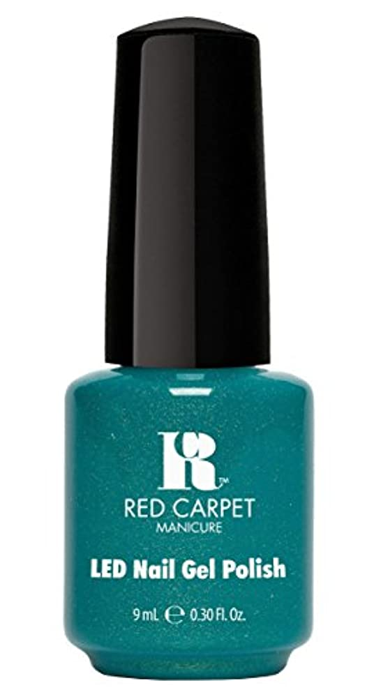 ブラウズラメ精度Red Carpet Manicure - LED Nail Gel Polish - Power of the Gemstones - Zircon - 0.3oz/9ml