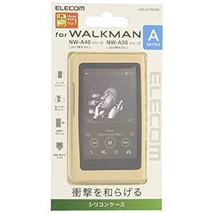 エレコム Walkman A シリコンケース ゴールド AVS-A17SCGD