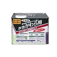 水性かわら用 ココナッツブラウン 7L【代引不可】 〈簡易梱包