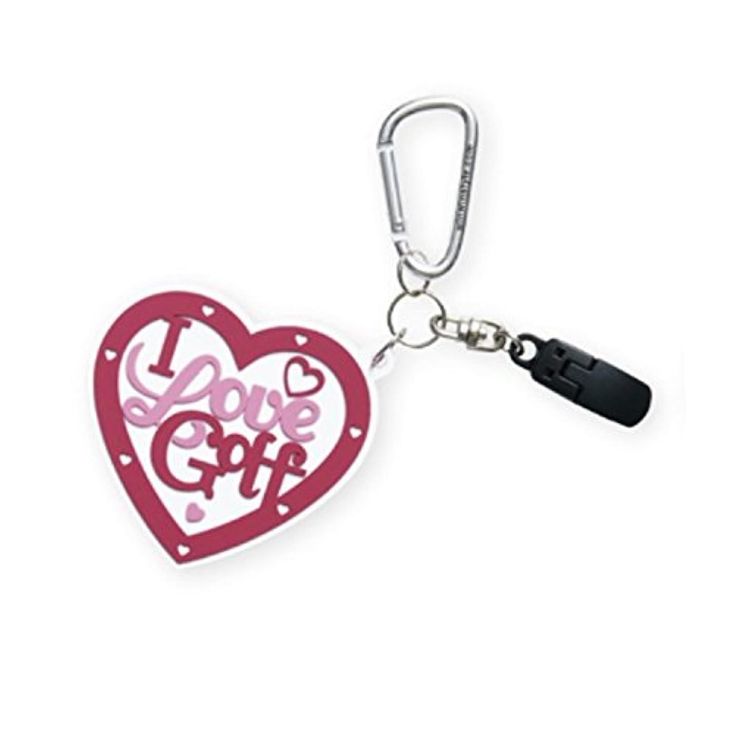 事業狼媒染剤WINWIN STYLE(ウィンウィンスタイル) LOVE HEART PUTTER CATCHER RUBBER TYPE PC-116 ユニセックス PC-116 ホワイト 用途:パターキャッチャー&ネームタグ