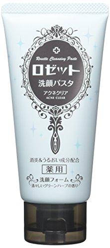 ロゼット洗顔パスタ アクネクリア 120g 【医薬部外品】