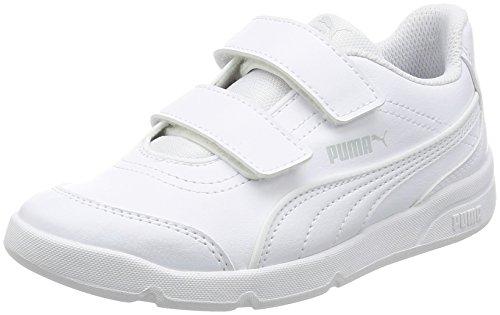 [プーマ]運動靴 Stepfleex FS SL V PS ホワイト/ホワイト/ホワイト 18.0 ...