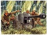 タミヤ イタレリ 6425 1/35 独5cm Pak38と砲兵セット