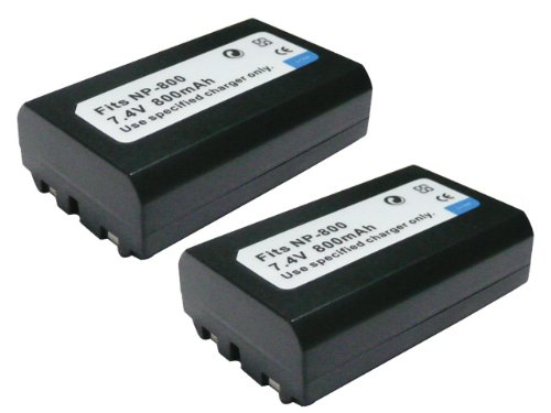【JC】2個セット KONICA MINOLTA/コニカ ミノルタ NP-800 互換バッテリー DG-5W DIGITAL 対応