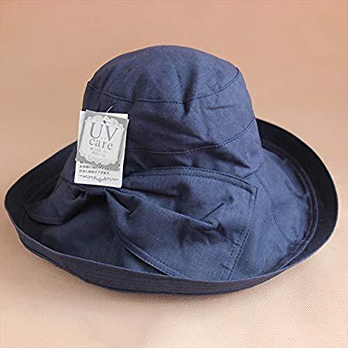 S&CLive UVケア遮光ハット 日よけ帽子 レディース ...