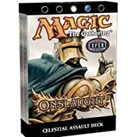 Magic the Gathering MTG Onslaught Celestial Assault Theme Deck