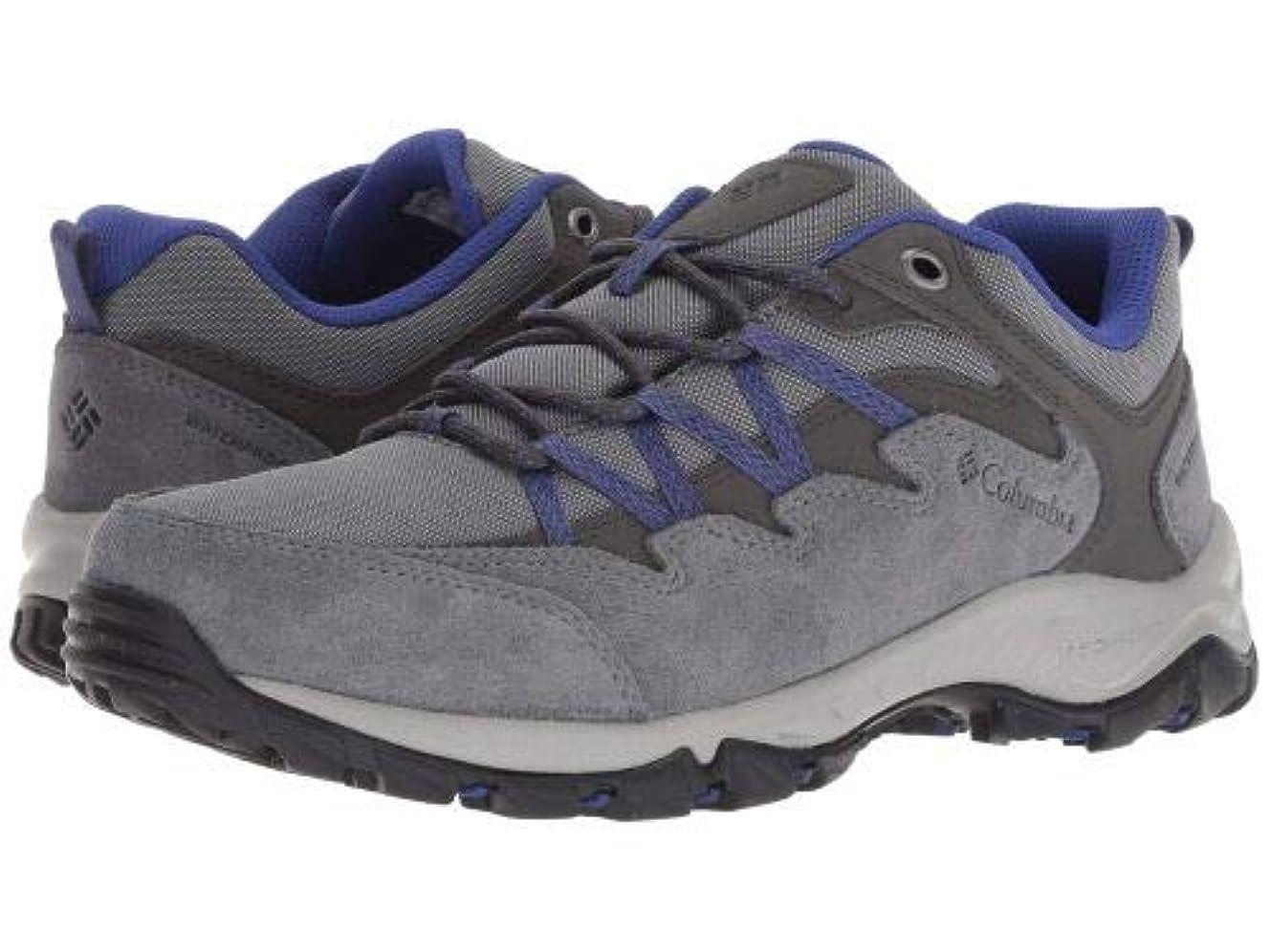 タイムリーなリビングルーム調停者Columbia(コロンビア) レディース 女性用 シューズ 靴 スニーカー 運動靴 Wahkeena Waterproof - Ti Grey Steel/Clematis Blue [並行輸入品]
