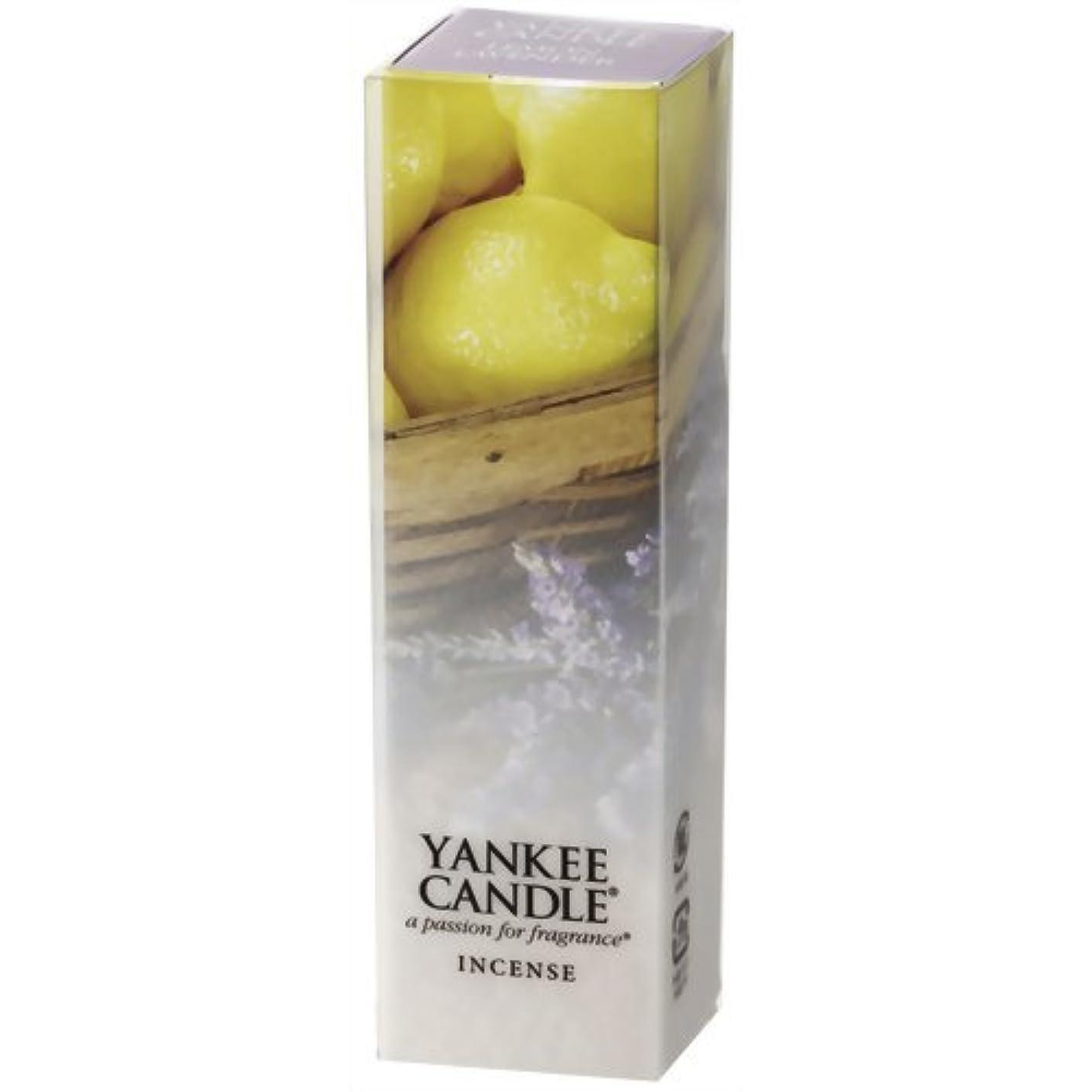 配偶者振り子やさしくYANKEE CANDLE(ヤンキーキャンドル) YCインセンス レモン ラベンダー