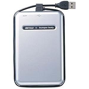 BUFFALO USB2.0 耐衝撃 ポータブルHDD 80GB HD-PHC80U2/UC