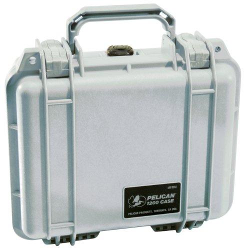 PELICAN ハードケース 1200 シルバー 4.4L 防水 シルバー 012137