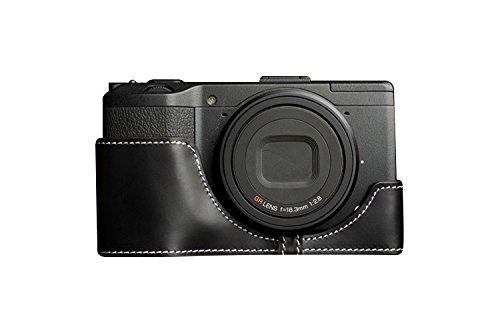 TP RICOH リコー GR / GR II (GR2)2用本革カメラケース ブラック