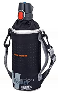 サーモス ペットボトルキャップ&クーラー (500mlペットボトル用) ブラック RCT-PC BK