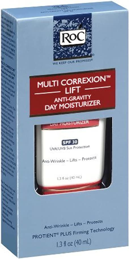 黒人苦味果てしないロック マルチコレクション リフト アンチグラビティ デイリーモイスチャライザー(SPF30) RoC Multi-Correxion Lift Anti-Gravity Daily Moisturizer With SPF...