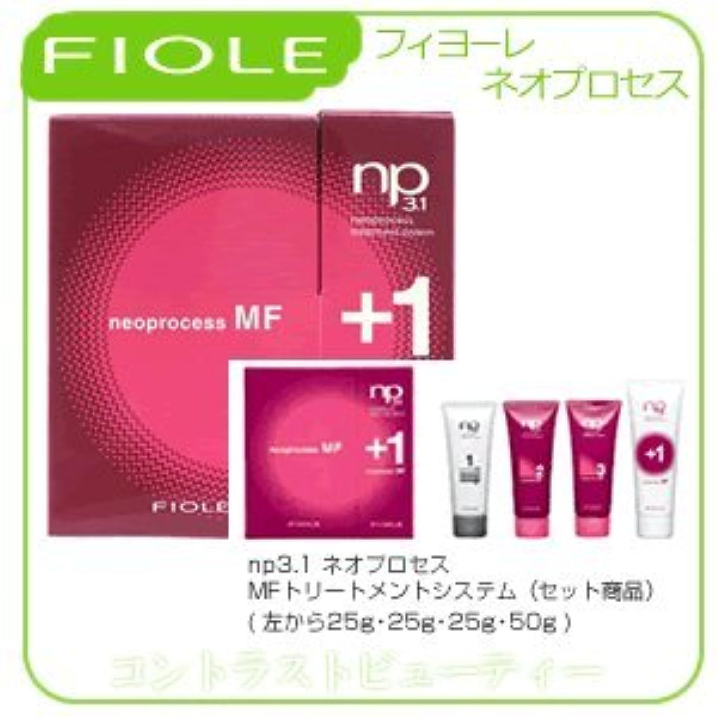 産地確かめる低い【X3個セット】 フィヨーレ NP3.1 ネオプロセス MF トリートメントシステム FIOLE ネオプロセス