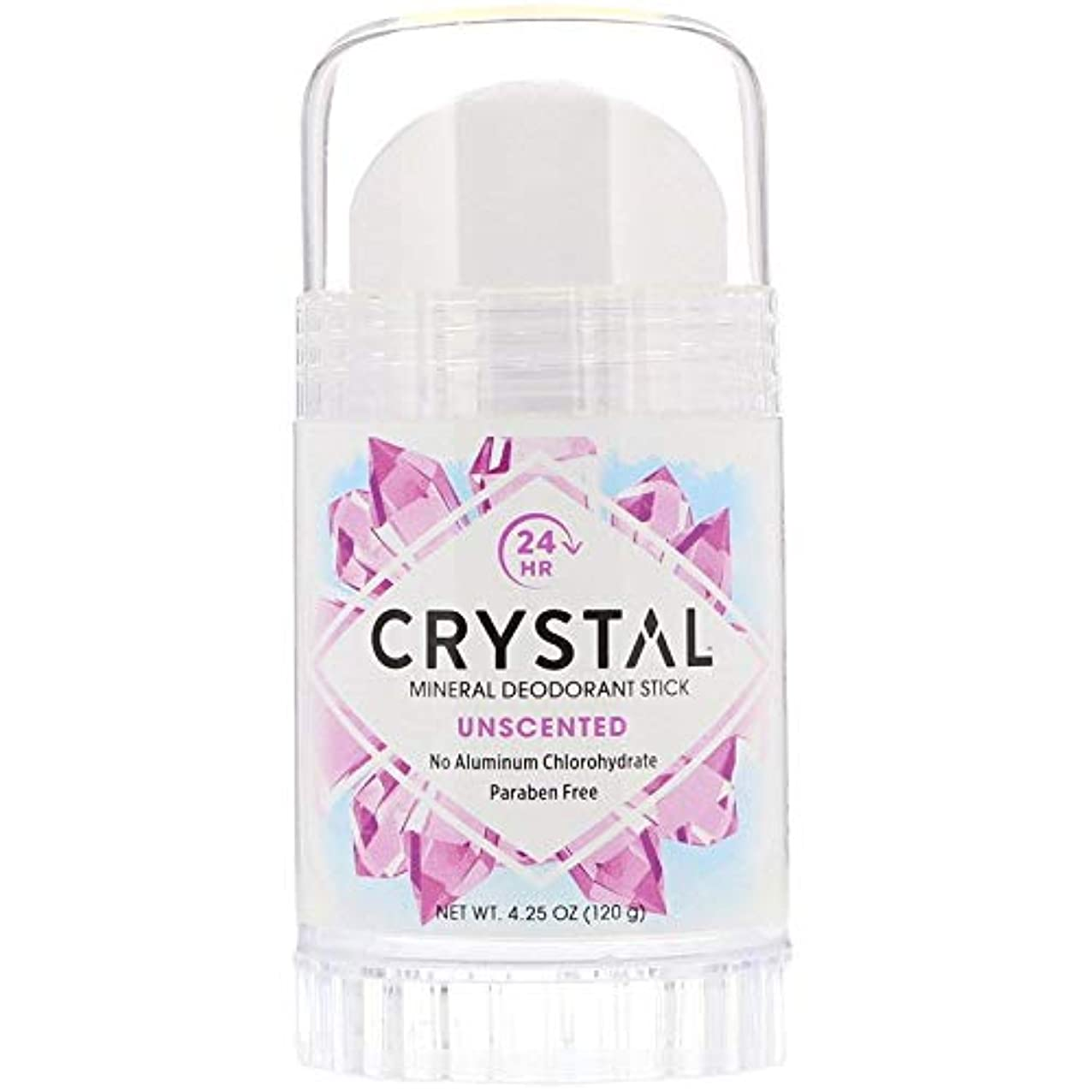 構成員の間に組立Crystal Deodorant Stick Twist-Up 126 ml (並行輸入品) -4 Packs