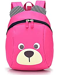 LiUiMiY 子供リュック 迷子防止 紐付き 可愛い熊型 幼児 キッズ 入園 幼稚園パックバッグ 男の子 女の子かばん 人気 1歳-3歳用